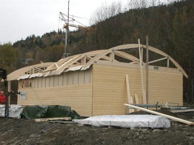 Servicebygg for Jernbaneverket/Veidekke Spesialprosjekt