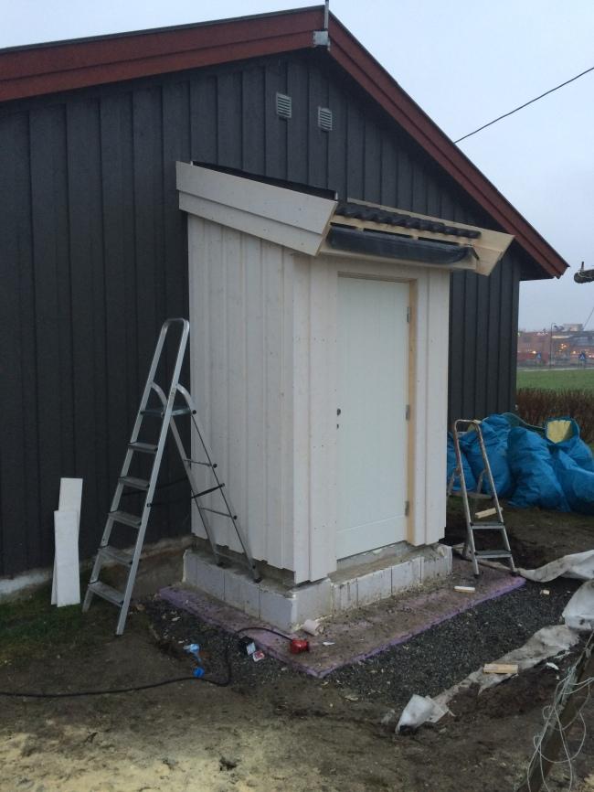 Norges minste TEK10-bygg? For Lier kommune